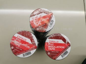PVC Insulation Tape (Black)- Apollo