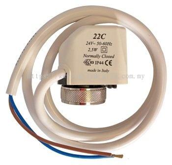 WATTS 3/4 LFN45BM1-DU ELECTROTHERMIC ACTUATOR (1,8W 230V/50~60HZ)