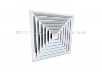 4-way Ceiling Air Diffuser SQ-A / SQ-G