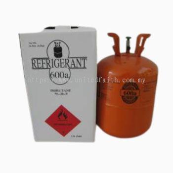 Refrigerant gas R600A 6.5kg
