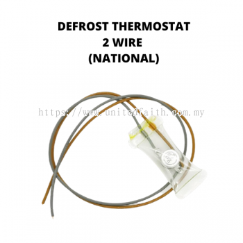 National Refrigerator Defrost Thermostat 2 Wire