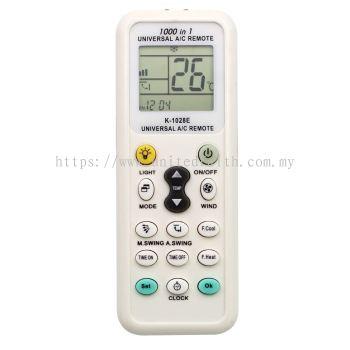 Universal A/C Air Conditioner Remote Control AC K-1028E