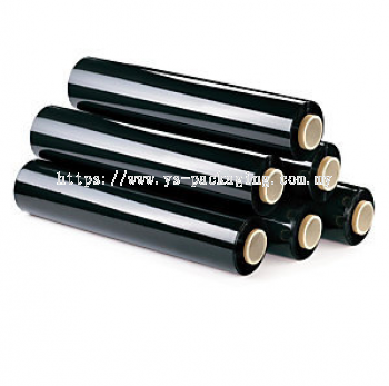 Black Stretch Film Machine Roll