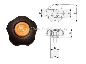 Hand Knob - 6012 Series