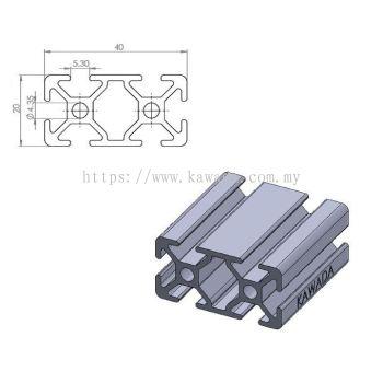 Aluminium Profile 20 X 40