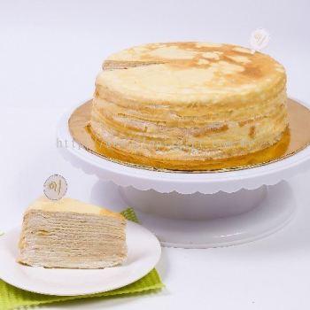 GLORIA VANILLA MILLE CREPE CAKE