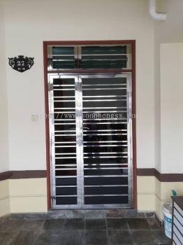STAINLESS STEEL - DOUBLE DOOR
