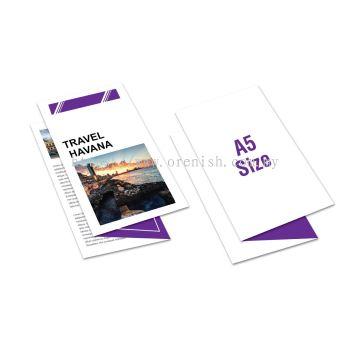 A5 Size Brochure