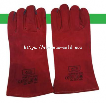 Welding Leather Hand Glove 13""