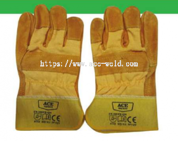 Semi Leather Hand Glove 10.5""