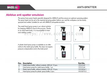 Abiblue Spray Bottle