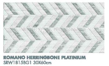 Romano Herringbone Platinium SRW1815BG1