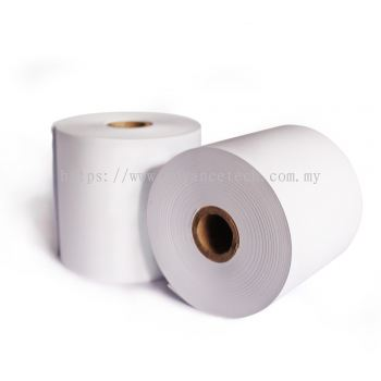 High-Quality Woodfree Paper Roll (57mm x 60mm) 1-ply