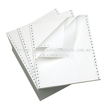 Computer Forms 9.5' x 11' 5-ply NCR ( white )