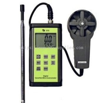 Hot Wire & Vane Anemometer