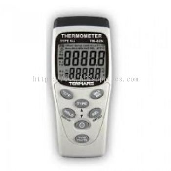 Dual Input Digital Thermometer (Type K / J)