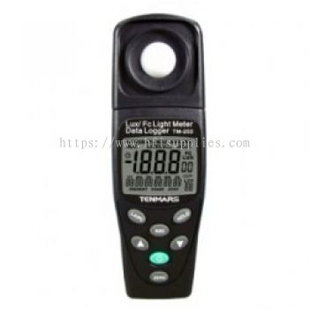 TM-203 Datalogging Auto Ranging Light Meter