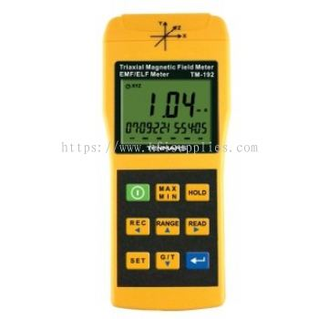 EMF/RF Field Strength Meter(Data Logging)