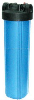 20;quot; Big Flow Housing Filter - Blue