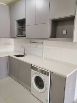 Kitchen Cabinet - Highpark Suites Kelana Jaya