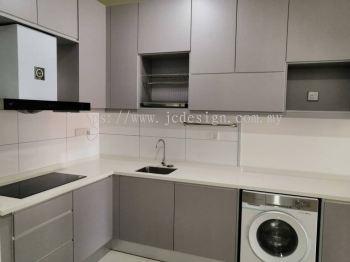 Kitchen Cabinet - Highpark Suites Kelana Jaya