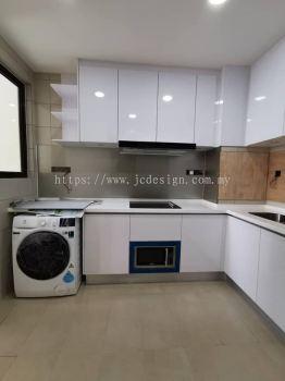 Hi Gloss Door Laminate Kitchen Cabinet