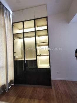 Glass Swing Wardrobe @ ThePark Bukit Jalil