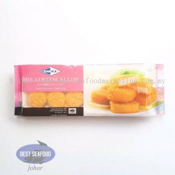 Imitation Breaded Scallop (Kanika) / 香脆干贝丸 (sold per pack)