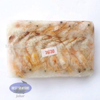 White Prawn / Ã÷Ϻ / Udang Putih (Size 26-30)(sold per pack)