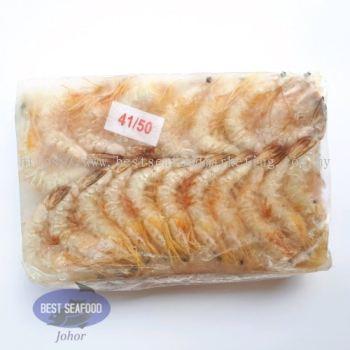 White Prawn / Ã÷Ϻ / Udang Putih (Size 41-50)(sold per pack)