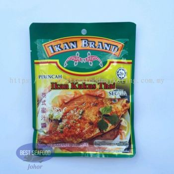 Thai Style Steamed Fish Paste Ikan Brand/ 泰式蜜汁酱 (sold per pack)