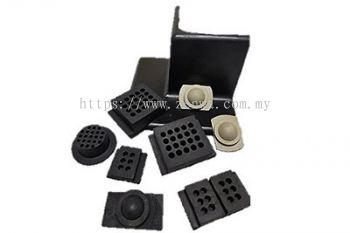Vibration Isolation Pads & Corners for flooring