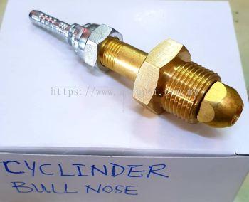 NITROGEN CYCLINDER ADAPTOR ; CYCLINDER BULL NOSE