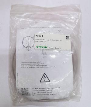 REGIN ANS-1 PRESSURE OUTLET 2PCS, PLASTIC STRAIGHT WITH PLASTIC TUBE 2M