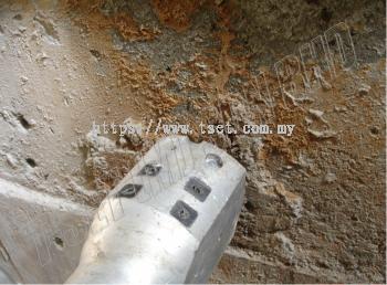 Hydraulic Splitting (Before Demolition)