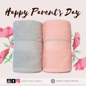 Luxez 100% Cotton Twin Towel