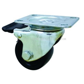Conductive Castor brake