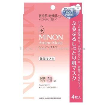Minon Amino Moist Moist Essential Mask 4 Sheets