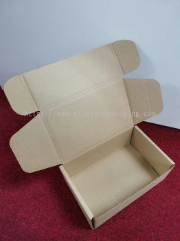 Courier packaging box