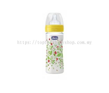 Chicco Well-Being Silicone Feeding Bottle 330ml (CC70770-80)