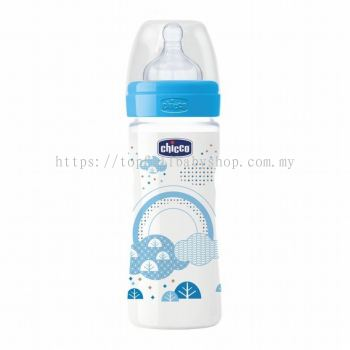 Chicco Well-Being Silicone Feeding Bottle 250ml (CC07232)