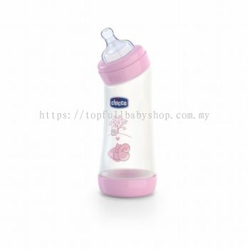 Chicco Well-Being First Angled Feeding Bottle 250ml (CC07211)