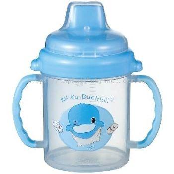 KUKU DUCKBILL Non-Spill Training Cup BLUE 240ML (KU5415)