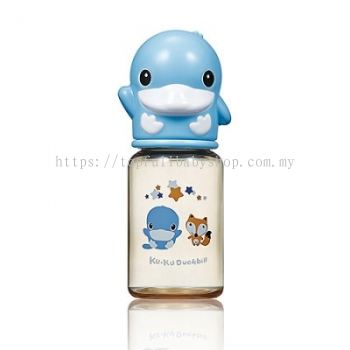 KUKU DUCKBILL PPSU Standard Feeding Bottle BLUE 140ml (KU5859)