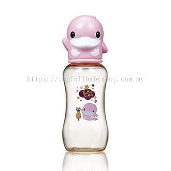 KUKU DUCKBILL PPSU Standard Feeding Bottle PINK 280ml (KU5861)