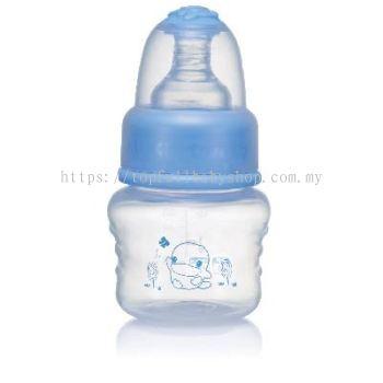 KUKU DUCKBILL PP Juice Feeding Bottle BLUE 60ml (KU5926)