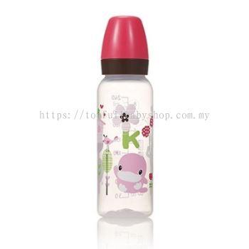 KUKU DUCKBILL PP Classic Standard Feeding Bottle RED 240ml (KU5928)
