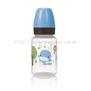 KUKU DUCKBILL PP Classic Standard Feeding Bottle BLUE 140ml (KU5927)