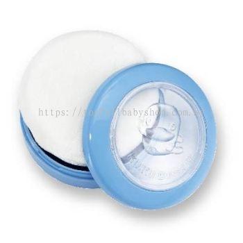 KUKU DUCKBILL Super Thin Powder Case and Puff - BLUE (KU5433)