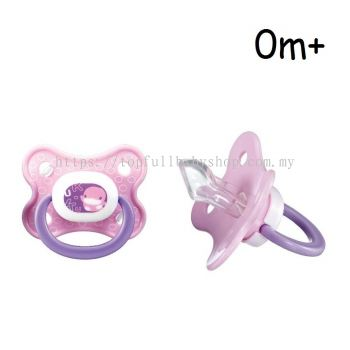 KUKU DUCKBILL Colourful Orthodontics Pacifier 0-6 month PINK (KU5510)